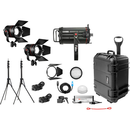 Fiilex X314: Gaffer's Three Light LED Interview Travel Kit