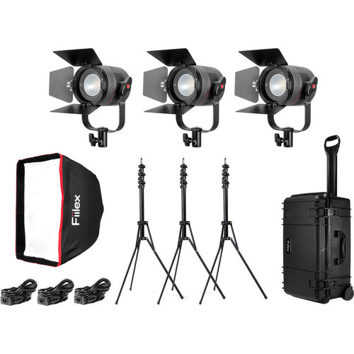 Fiilex K301 Pro: Three Light P360 Pro LED Interview Travel Kit