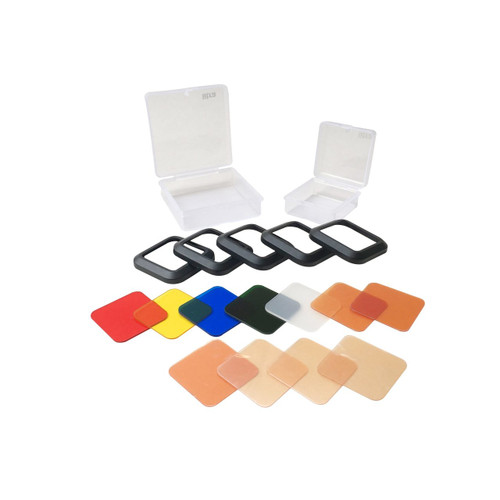 Litra USA T22FS 5 filter frames to fit on a LitraTorch