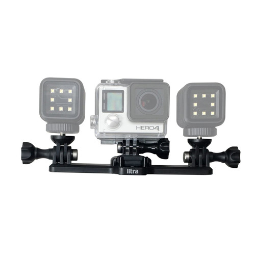 Litra USA T22TM Triple Mount  for Two Torch Lights