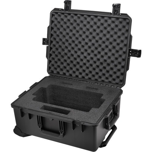 The G-Technology G-SPEED Shuttle XL iM2720 Protective Case is a Pelican iM2720 Storm case that comes with a custom foam insert, which holds your G-SPEED Shuttle XL RAID array system