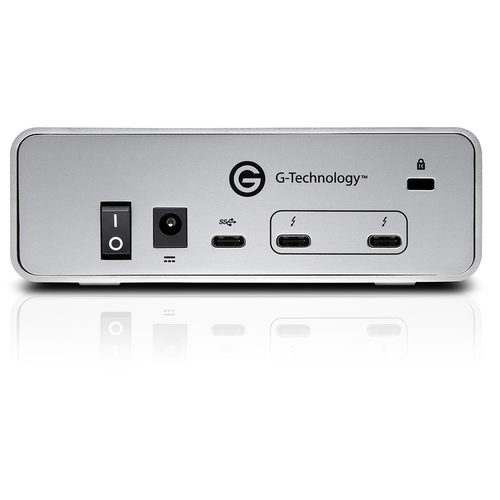 G-Technology 0G05368 6TB G-DRIVE Thunderbolt 3 USB-C Professional Hard Drive