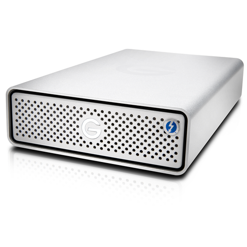 The 6TB G-DRIVE Thunderbolt 3 External Hard Drive from G-Technology provides up to 6TB of enterprise-class storage.