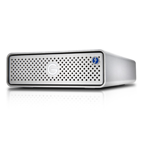 The 8TB G-DRIVE Thunderbolt 3 External Hard Drive from G-Technology provides up to 8TB of enterprise-class storage.