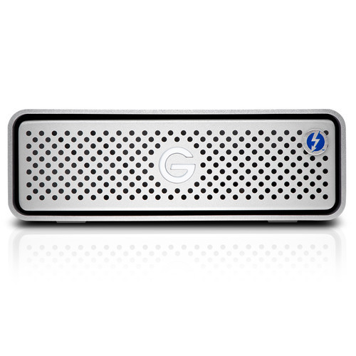 The 10TB G-DRIVE Thunderbolt 3 External Hard Drive from G-Technology provides up to 10TB of enterprise-class storage.