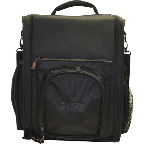"Gator cases G-CLUB CDMX-12 G-Club Series Carry Bag for Large DJ CD Players or 12"" DJ Mixers with Headphone Storage. Fits Pioneer CDJ 2000, Numark NDX 800, Stanton C324- NA, A&H - Xone:42, Denon DN-X1100 and more, right"