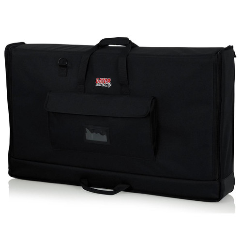 "Gator cases G-LCD-TOTE-LG Padded Nylon Carry Tote Bag for Transporting LCD Screens Between 40"" - 45"", left"