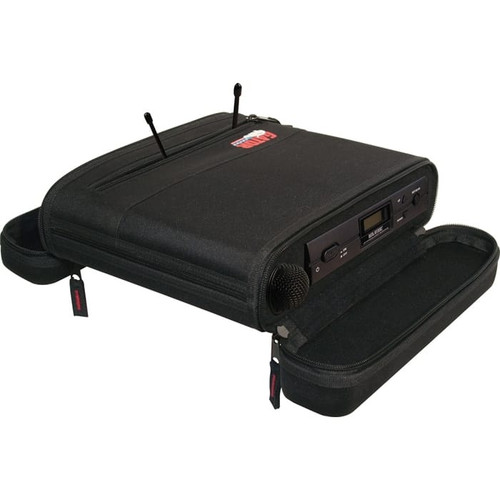 Gator cases GM-1WEVAA EVA Foam Case for A Single Wireless Mic System; half rack, main