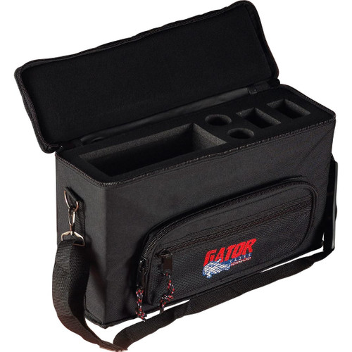 Gator cases GM-2W Padded Bag for 2 Wireless Mic Systems, main