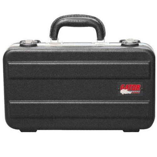 Gator cases GM-6-PE ATA Molded 6 Slot Microphone Briefcase, main