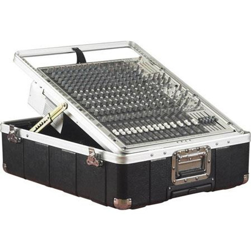 "Gator cases G-MIX-12 PU ATA Molded Pop-Up Mixer Case w/ Wheels; 12U; 6.5"" Deep, main"