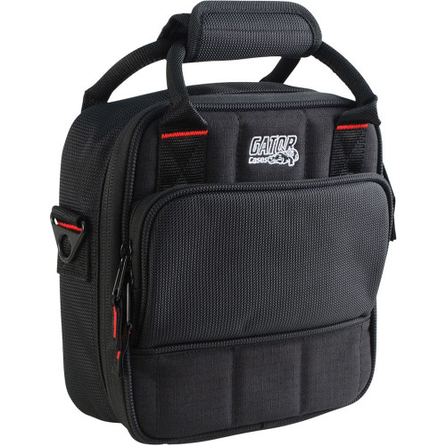 "Gator cases G-MIXERBAG-0909 Updated Padded Nylon Mixer Or Equipment Bag; 9"" X 9"" X 2.75"", left"