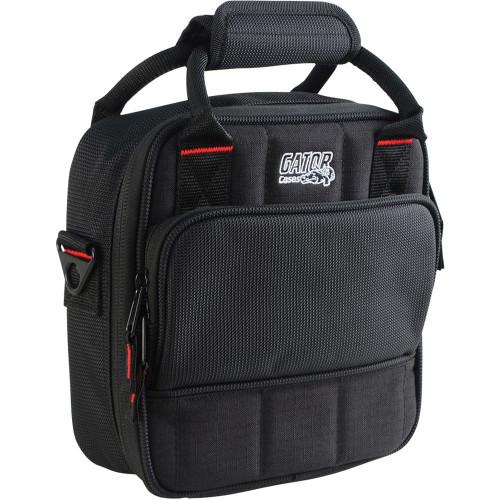 "Gator cases G-MIXERBAG-0909 Updated Padded Nylon Mixer Or Equipment Bag; 9"" X 9"" X 2.75"", left"