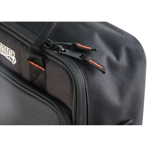 "Gator Cases G-MIXERBAG-1815 Updated Padded Nylon Mixer Or Equipment Bag; 18"" X 15"" X 6.5"""