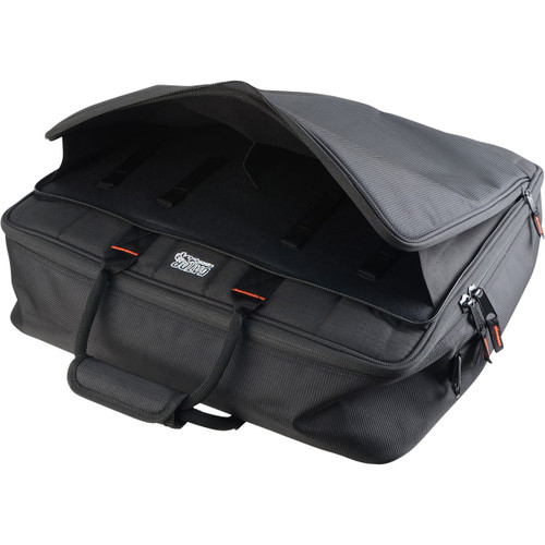 "Gator Cases G-MIXERBAG-2020 Updated Padded Nylon Mixer Or Equipment Bag; 20"" X 20"" X 5.5"""