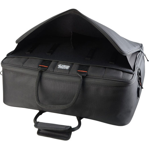 "Gator Cases G-MIXERBAG-2118 Updated Padded Nylon Mixer Or Equipment Bag; 21"" X 18"" X 7"""