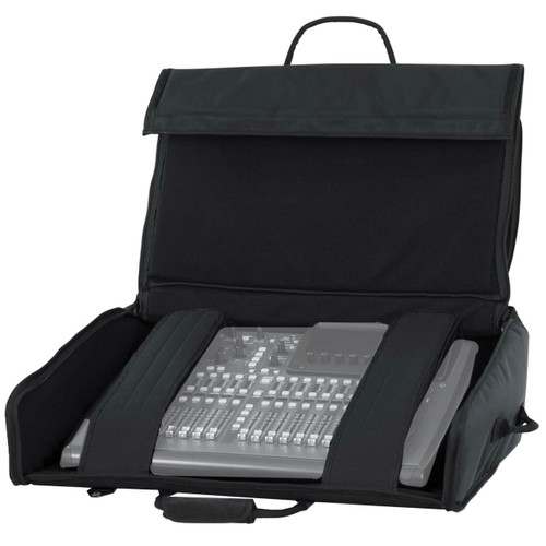 "Gator Cases G-MIXERBAG-2621 Padded Nylon Carry Bag for Large Format Mixers; 26"" X 21"" X 8.5"""