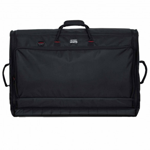 "Gator cases G-MIXERBAG-3121 Padded Nylon Carry Bag for Large Format Mixers; 31"" X 21"" X 7"", right"