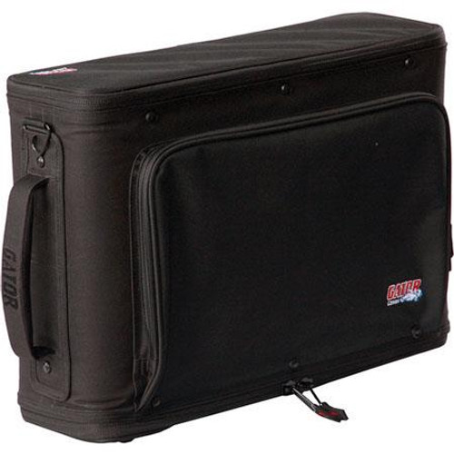 Gator cases GR-RACKBAG-4U 4U Lightweight rack bag with aluminum frame and PE reinforcement, left