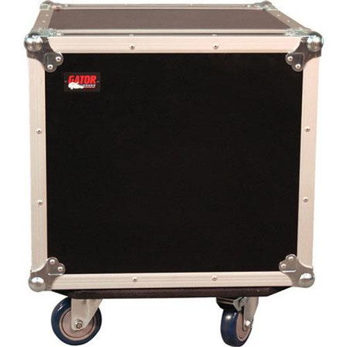 Gator Cases G-TOUR 10U CAST ATA Wood Flight Rack Case
