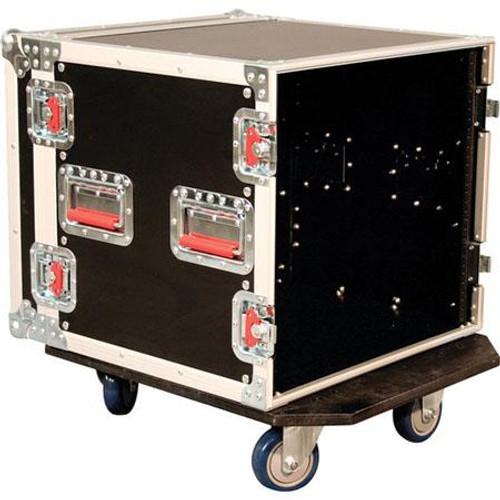 Gator Cases G-TOUR 10U CAST ATA Wood Flight Rack Case