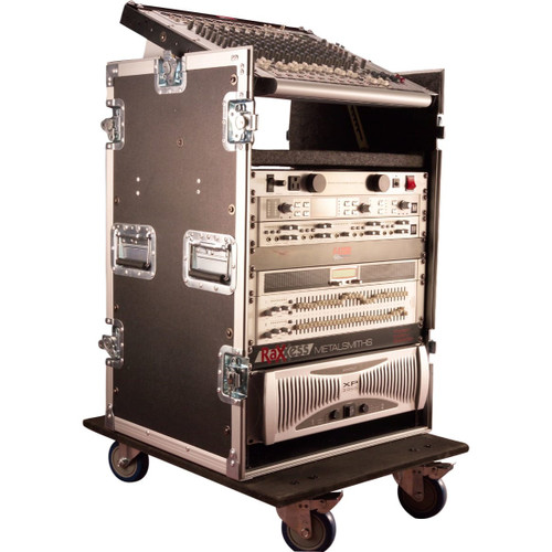 Gator Cases G-TOUR 10X12 PU ATA Wood Flight Pop-Up Console Rack Case