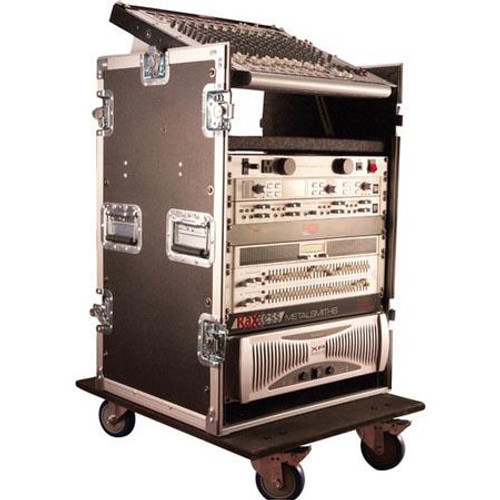 Gator Cases G-TOUR 10X14 PU ATA Wood Flight Pop-Up Console Rack Case