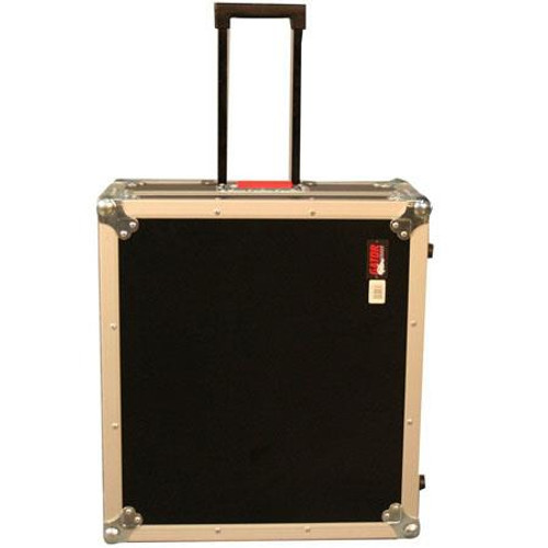 "Gator Cases G-TOUR 19X21 ATA Wood Flight Case for Mixers; 19"" X 21"" X 6.5""; w/ Wheels"