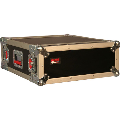 "Gator cases G-TOUR 2U ATA Wood Flight Rack Case; 2U; 17"" Deep, main"