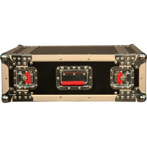 "Gator Cases G-TOUR 2U ATA Wood Flight Rack Case; 2U; 17"" Deep"