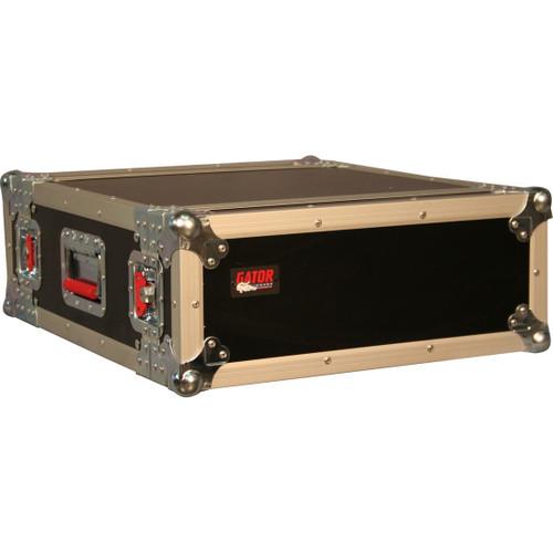"Gator cases G-TOUR 4U ATA Wood Flight Rack Case; 4U; 17"" Deep, main"