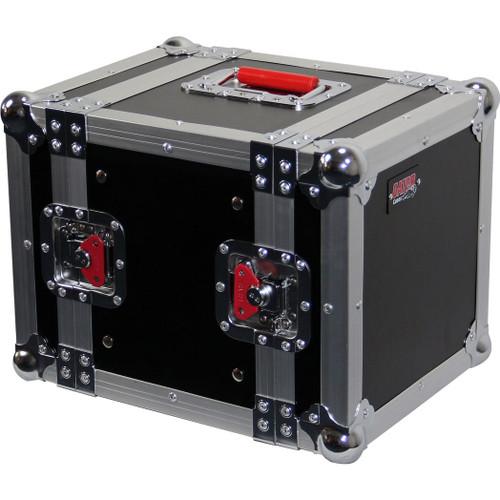 "Gator Cases G-TOUR 6UHR ATA Wood Flight Half Rack Case; 6U; 8"" depth"