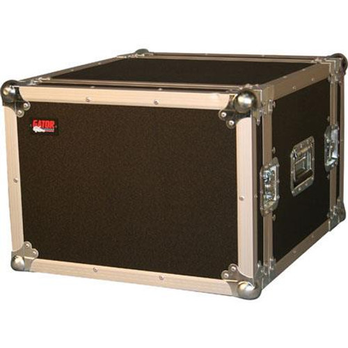 "Gator cases G-TOUR 8U ATA Wood Flight Rack Case; 8U; 17"" Deep, main"