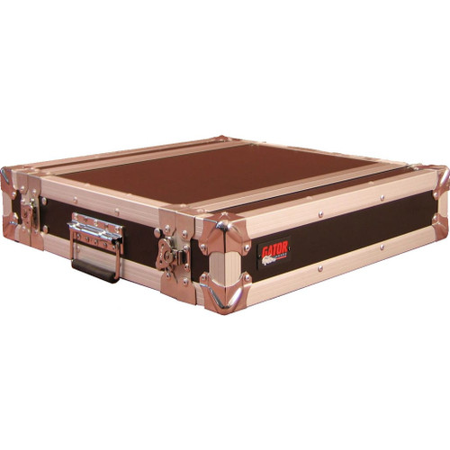 "Gator cases G-TOUR EFX2 ATA Wood Flight Rack Case; 2U; 15"" Deep, right"