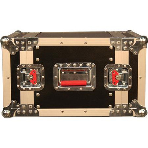 "Gator Cases G-TOUR EFX6 ATA Wood Flight Rack Case; 6U; 15"" Deep"