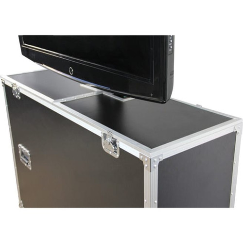 Gator Cases G-TOUR ELIFT 42 ATA Wood Flight Case w/ Electric LCD Lift & Casters