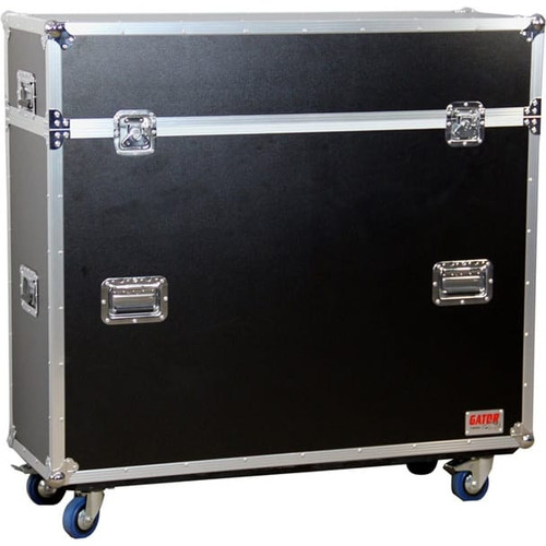 Gator Cases G-TOUR ELIFT 55 ATA Wood Flight Case w/ Electric LCD Lift & Casters
