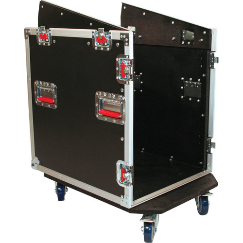 Gator cases G-TOUR-GRC12X12 ATA Console Wood Flight Rack Case; 12U Top; 12U Bottom, main