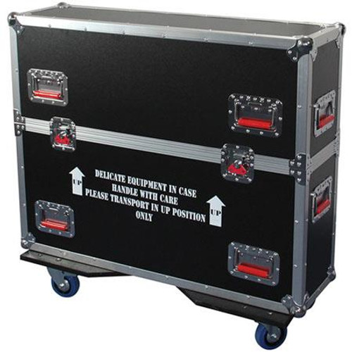 Gator cases G-TOURLCDV2-2632 G-TOUR case designed to easily adjust and fit most LCD, LED or plasma screens in the 26 to 32 inch class. Interior dims 32.5 X 6.3 X 25.5, main