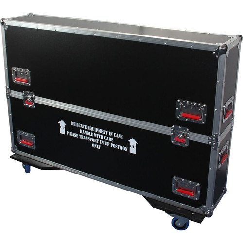 Gator cases G-TOURLCDV2-3743 G-TOUR case designed to easily adjust and fit most LCD, LED or plasma screens in the 37 to 43 inch class. Interior dims 43 X 6.3 X 30.5, main