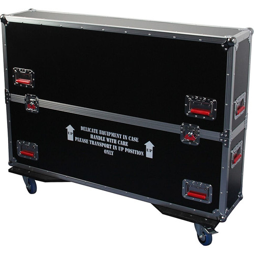 Gator cases G-TOURLCDV2-4350 G-TOUR case designed to easily adjust and fit most LCD, LED or plasma screens in the 43 to 50 inch class. Interior dims 49.5 X 6.3 X 30.5, main