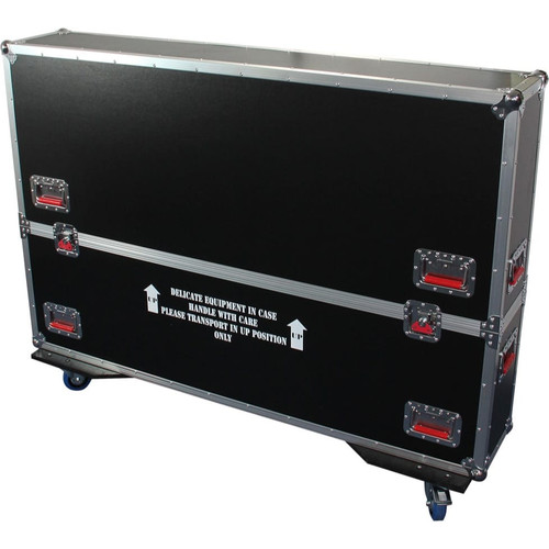 Gator cases G-TOURLCDV2-6065 G-TOUR case designed to easily adjust and fit most LCD, LED or plasma screens in the 60 to 65 inch class. Interior dims 62.5 X 6.3 X 36, main