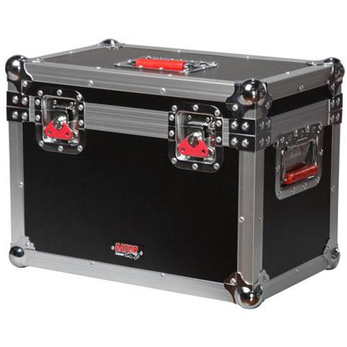 "Gator cases G-TOURMINIHEAD2 ATA Wood Flight Case for Medium Size 'Lunchbox' Style Amplifier Heads. Internal dims 17.5""x10""x10"", right"