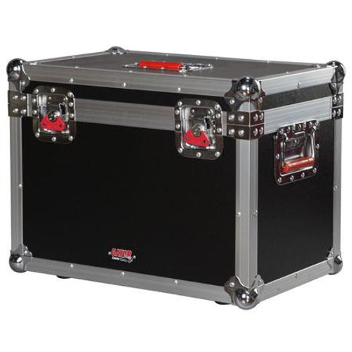 """Gator cases G-TOURMINIHEAD3 ATA Wood Flight Case for Large 'Lunchbox' Style Amplifier Heads. Internal dims 22""""x12""""x12"""", left"""