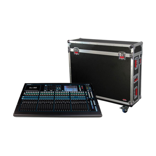 Gator cases G-TOURQU32 ATA Wood Flight Case for Allen & Heath QU32 Mixing Console with Doghouse Design, main