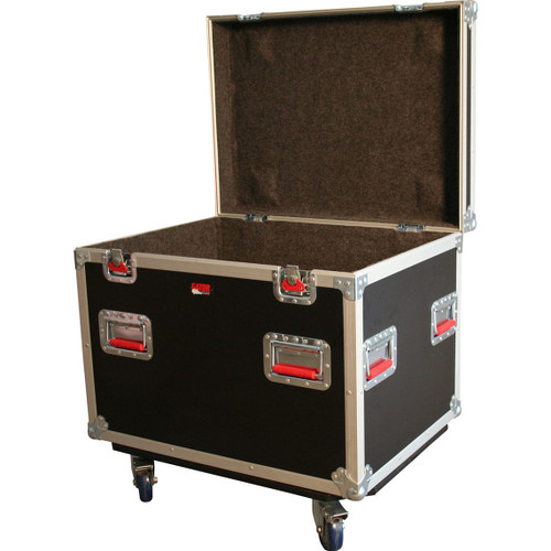 "Gator cases G-TOURTRK3022HS ATA Wood Flight Truck Pack Trunk Case; 30"" x 22"" x 22"" Exterior Before Casters; 9mm Wood, main"
