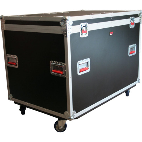 "Gator cases G-TOURTRK4530HS ATA Wood Flight Truck Pack Trunk Case; 45"" x 30"" x 30"" Exterior Before Casters; 9mm Wood, main"
