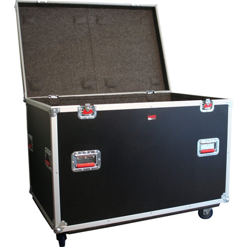 "Gator Cases G-TOURTRK4530HS ATA Wood Flight Truck Pack Trunk Case; 45"" x 30"" x 30"""
