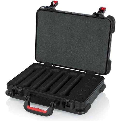 Gator Cases GTSA-MICW6 TSA Series ATA Molded Polyethylene Case for 6 Wireless Mics