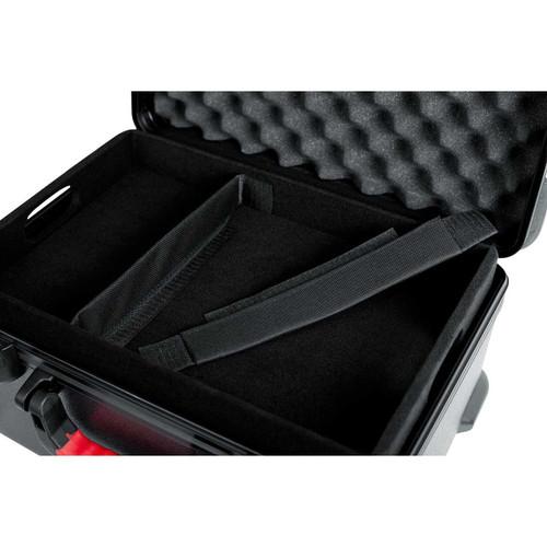Gator Cases GTSA-MICW7 TSA Series ATA Molded Polyethylene Case for 7 Wireless Mics